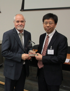 Prof. Qian receives CASE Award